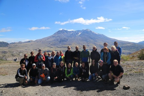 Vor Mount Saint Helens