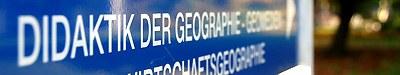 Header Didaktik der Geographie