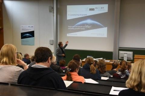 Professor Dr. Wilfried Hoppe bei der Eröffnung des Landesfachtags 2017